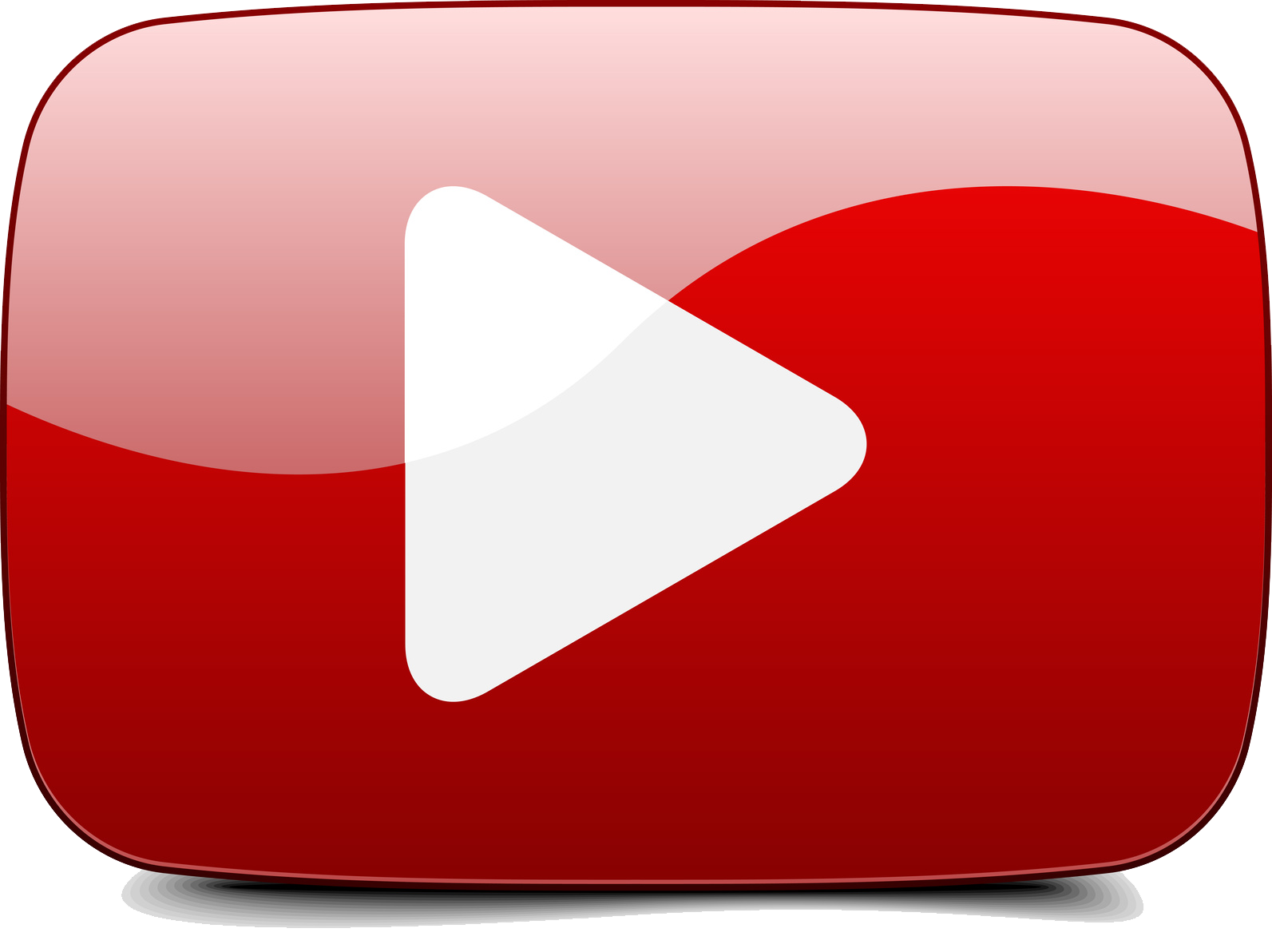 YouTube Play Button PNG Photos